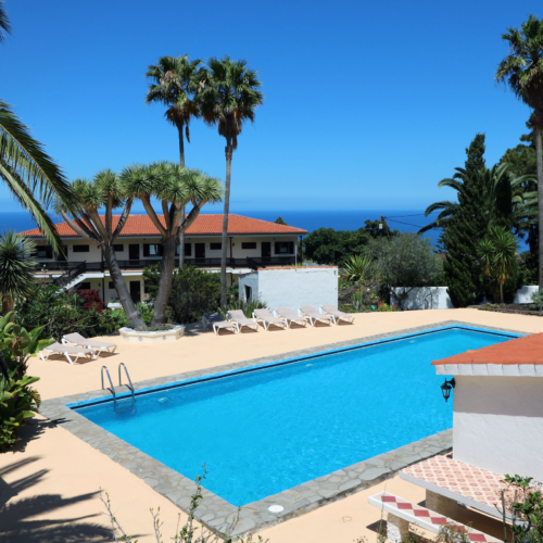 La Palma - Apartments Miranda - View pool and complex