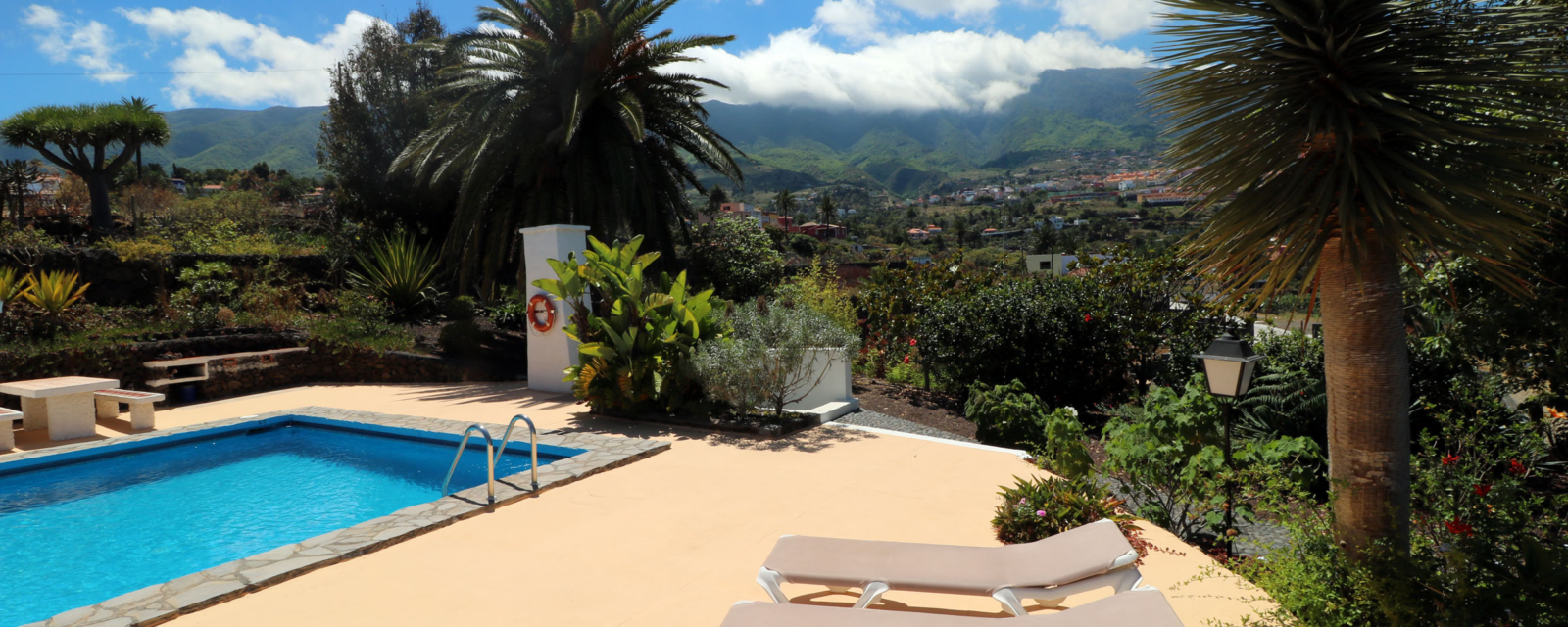 La Palma - Apartments Miranda - Pool view