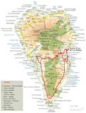 La Palma - Small Map - Apartamentos Miranda