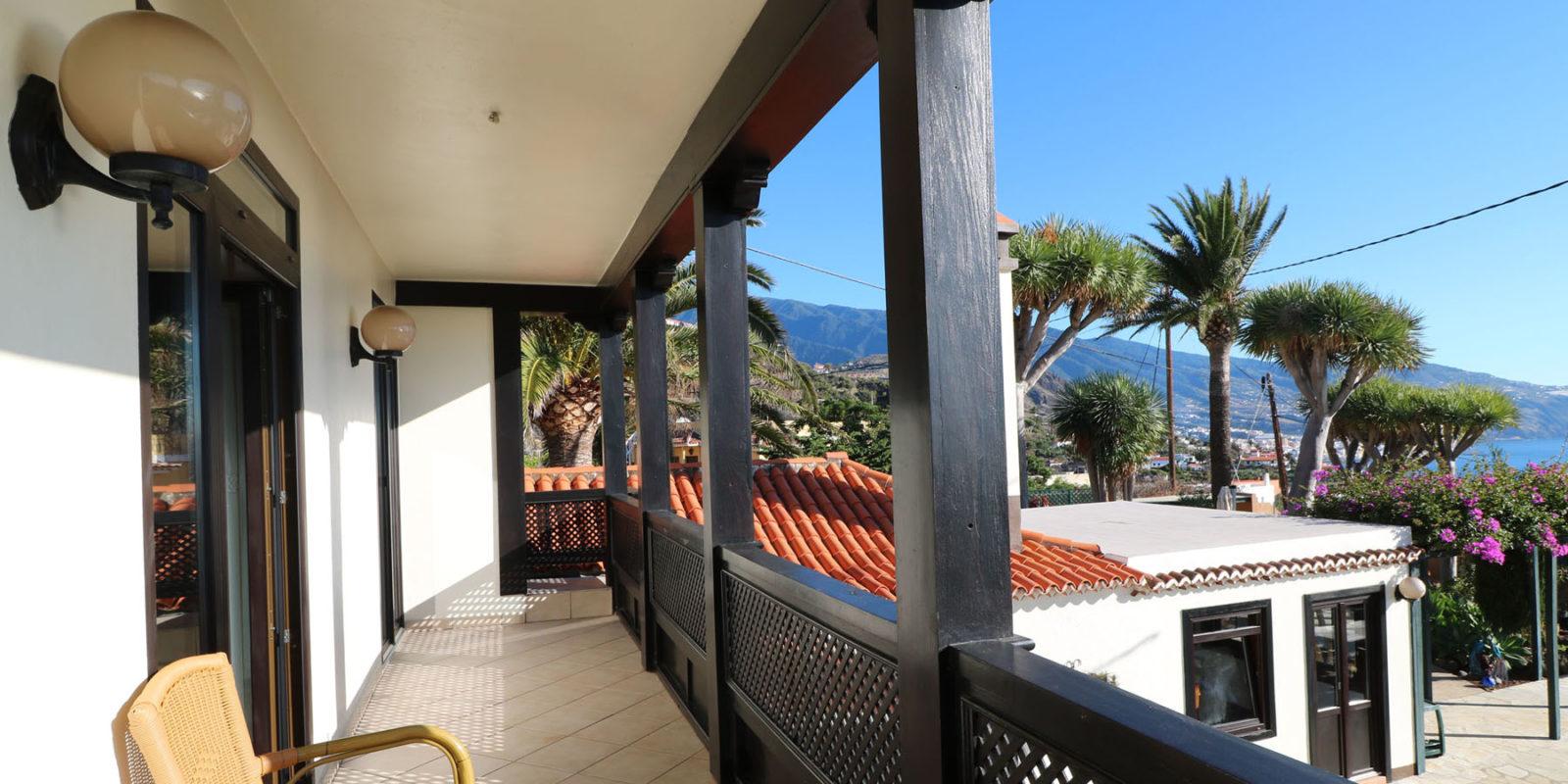 La Palma - Villa Escondida - Balcony