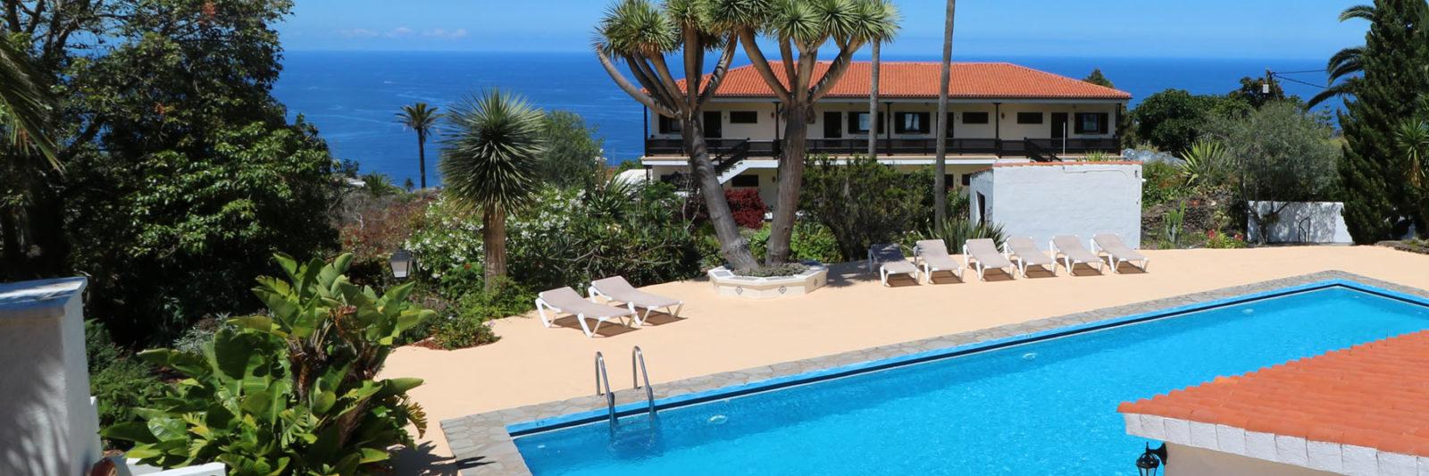 La Palma - Apartments Miranda - View pool and complex