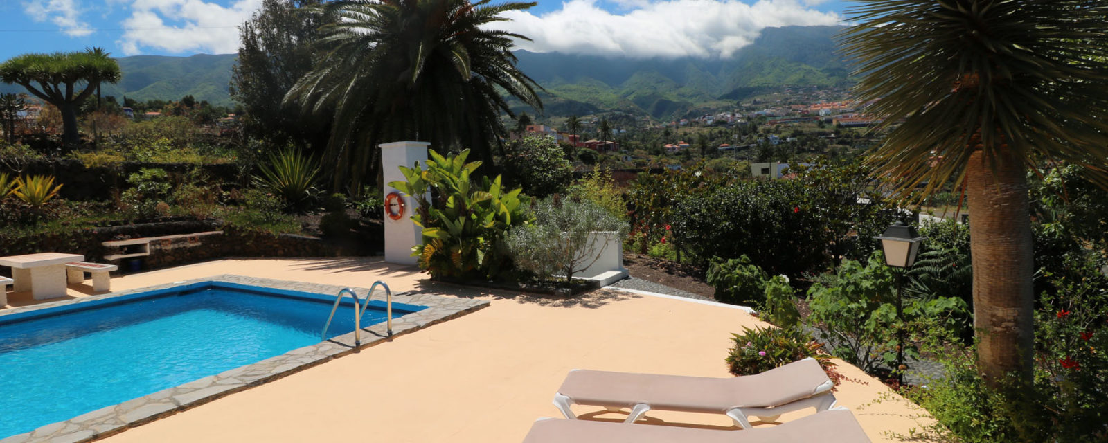 La Palma - Apartments Miranda - Pool