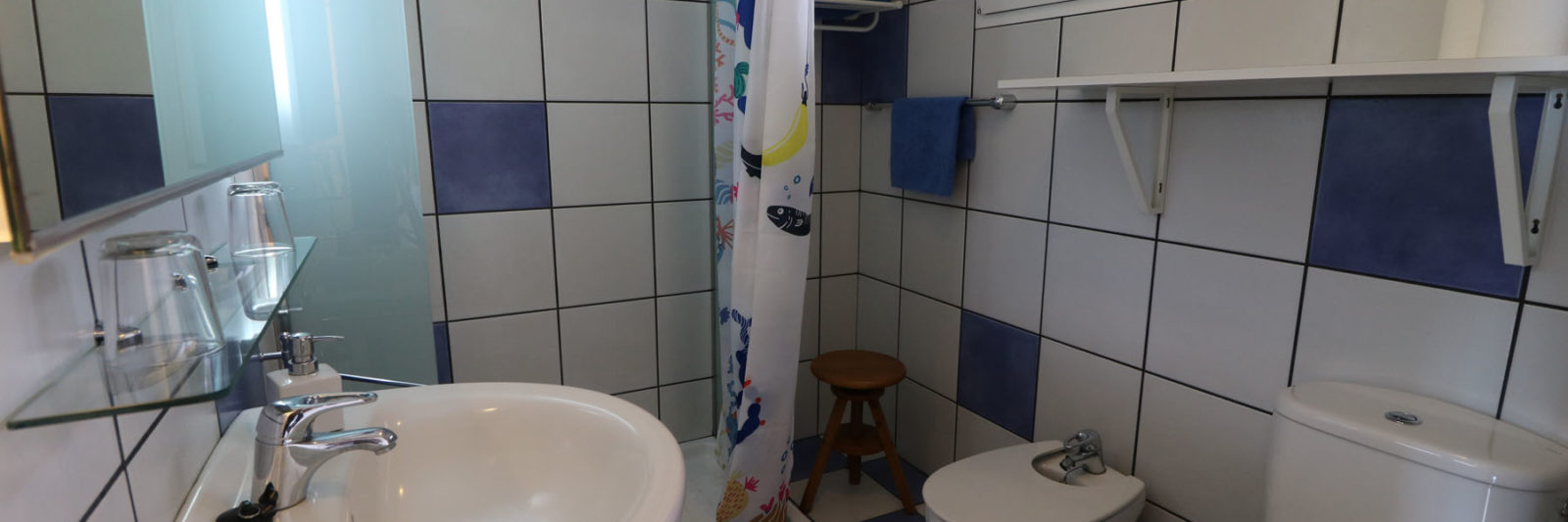 La Palma - Apartments Miranda - Studio - Bathroom